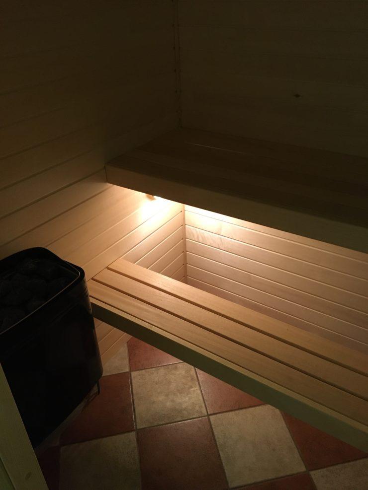 Domácí finská sauna
